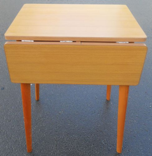 Retro Teak Dropleaf Kitchen Table
